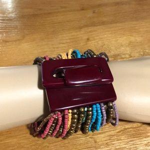 Jewelry - MULTI STRANDED BEADED BRACELET NWOT